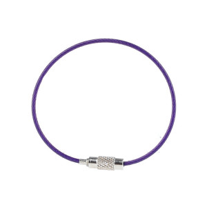 Cable Ring Purple